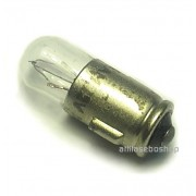 miniature bulb 12V  1W  19 x 7 mm