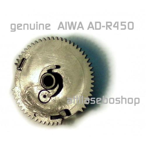 AIWA AD-R450 tape deck pause servo gear  81-505-235