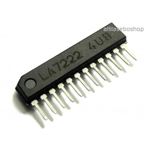 LA7222  -  Low Noise 2 channel 2 position  audio - video switch, Sanyo