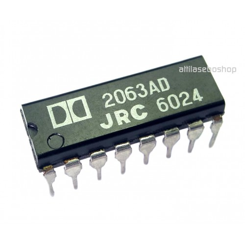 NJM2063AD  DOLBY-B type noise reduction processor  JRC