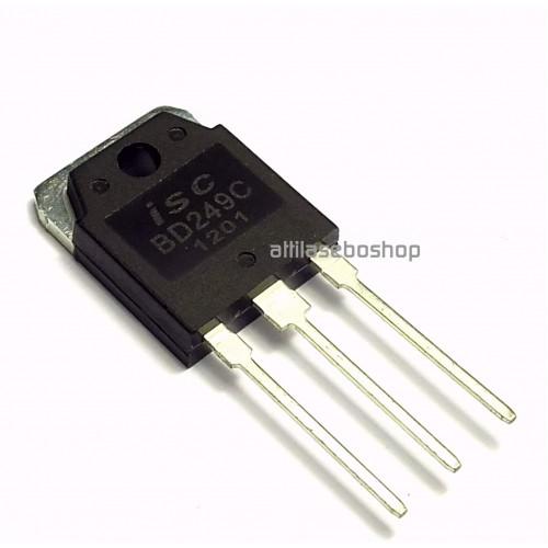 BD249C transistor 100V, 25A, 125W ,TO-3PN ,   ISC