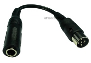 domino - dice - 6,3 mm jack headphoneaudio cable